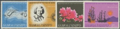 Samoa SG306-9 Bicentenary of Bougainville's Visit to Samoa set of 4